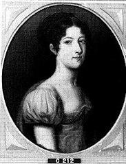 Jonkvrouwe Jeannette Jacqueline Pompeja van Heeckeren van de Cloese (1794-1817). Echtgenote Willem Jan Philip, Baron Sloet