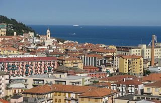 Oneglia human settlement in Italy