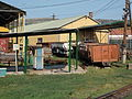 Open railway wagons at Mátravasút depot. - Gyöngyös.JPG
