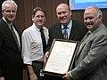 Orange County government recognizes 100th anniversary of the Register, Nov. 22, 2005 (3007679367).jpg