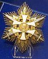 Order of the Slovak Cross grand cross with swords star (Slovakia) - Tallinn Museum of Orders.jpg
