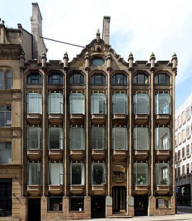 Oriel Chambers building in Liverpool, England