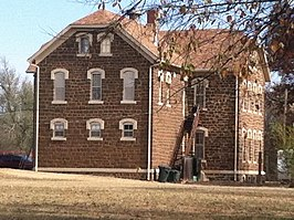 Original Brookville, Kansas school house.jpg