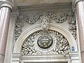 Ornate detail above doorway of former City bank - geograph.org.uk - 885621.jpg