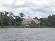 Another Ortega riverfront mansion.