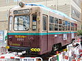 Osaka City Trum 2201 in Shinsekai (10) IMG 2295 20130421.JPG