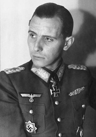 Neo-Nazism - Otto Ernst Remer, leader of the postwar Socialist Reich Party.