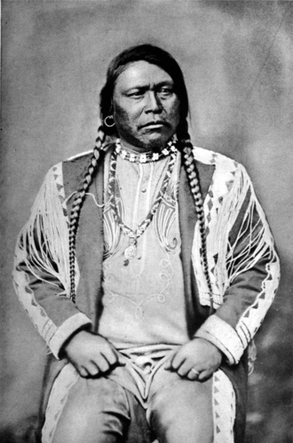 Ouray (Ute leader) - Ouray, Ute Chief, Colorado, 1874