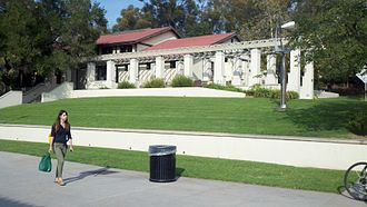 "Occidental College - Samuelson is more commonly known as ""the cooler"" where students and faculty may go enjoy a meal or a quick snack."