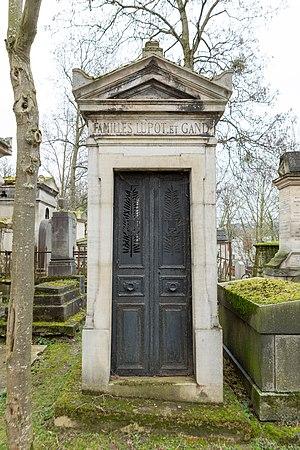 Charles François Gand - Père Lachaise Cemetery.