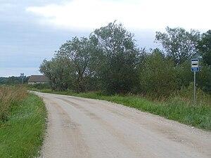 Põgari-Sassi - Image: Põgari Sassi bus stop 2008