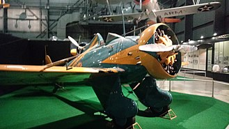 Boeing P-26 Peashooter - P-26A at Wright-Patterson National Museum of the USAF