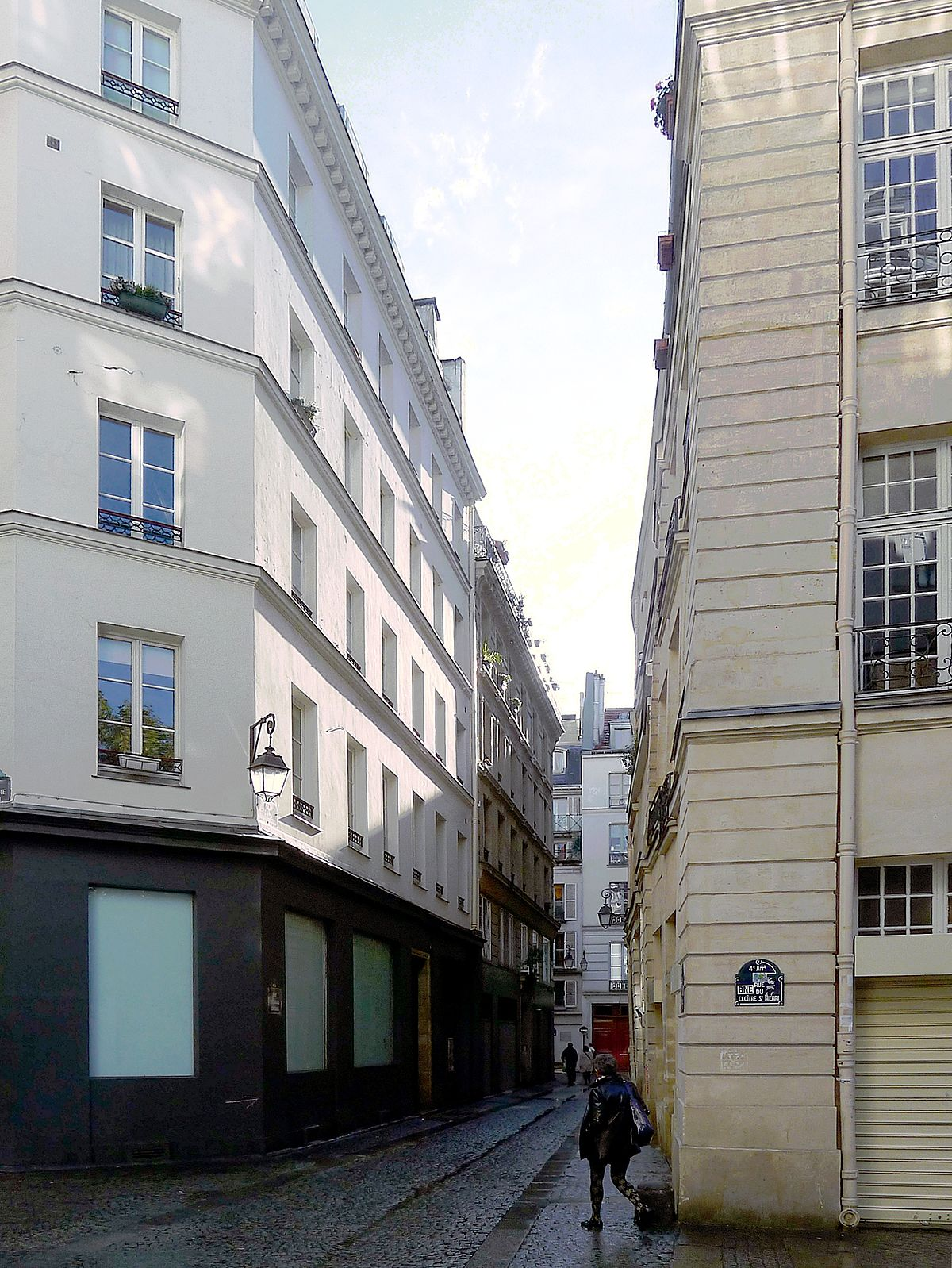 Rue des juges consuls wikip dia for Piscine saint merri