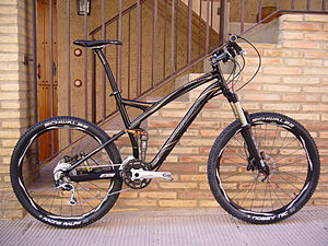 Specialized Stumpjumper - A 2008 Specialized Stumpjumper with full suspension