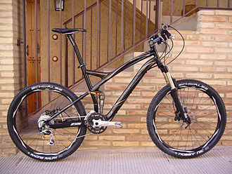 Specialized Bicycle Components - A 2008 Specialized Stumpjumper with full suspension