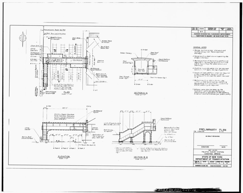 Elevation Plan And End View : File photographic view of plan elevation and end