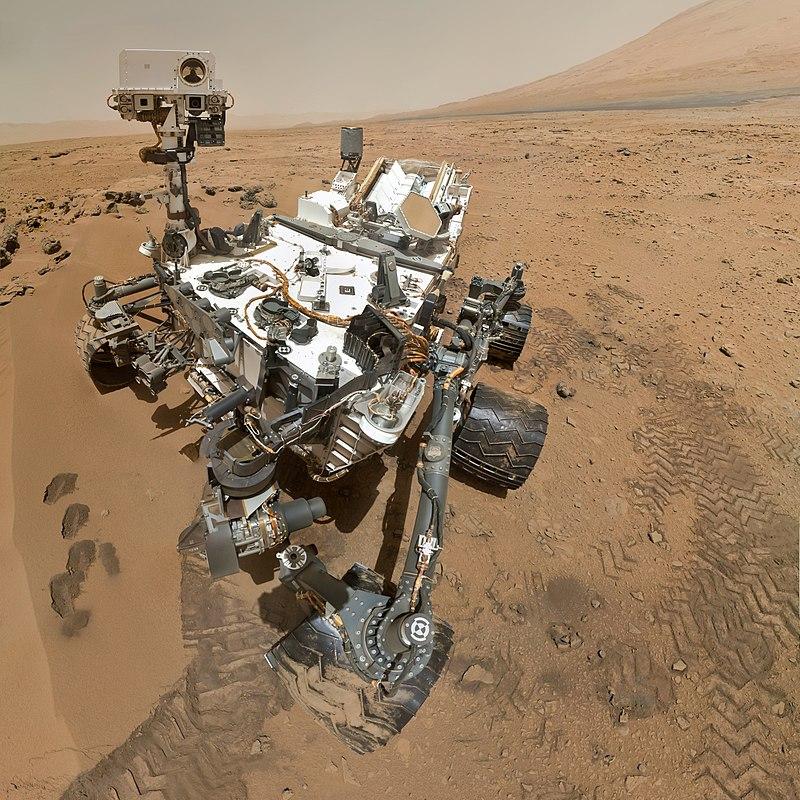 Cuiosity auf dem Mars