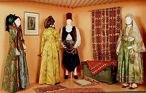 Peloponnesian Folklore Foundation - PFF's traditional Greek costumes.
