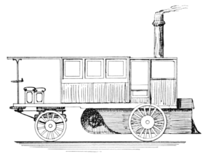 Walter Hancock - Image: PSM V57 D418 Steam ominubus made by hancock