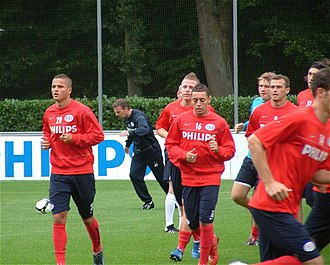 Ismaïl Aissati - Aissati at PSV training in 2008.