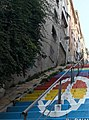 Painted stairs in İzmir.jpg