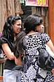Pair of Girls in Pedestrian Mall - Casablanca - Morocco.jpg