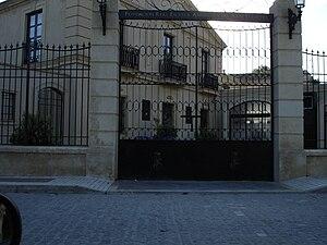 Royal Andalusian School of Equestrian Art - Entrance for visitors, Palacio Duque de Abrantes