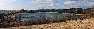 Lake Palčje - Image: Palskopanorama 3