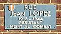 Panneau rue Jean Lopez (résistant) Beauvais.jpg