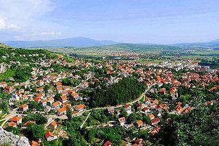 Livno City in Federation of Bosnia and Herzegovina