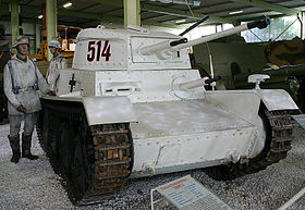 Image illustrative de l'article Panzerkampfwagen 38(t)