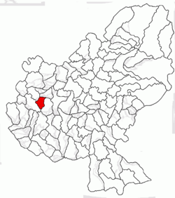 Location of Papiu Ilarian