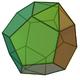 Parabiaugmented dodecahedron
