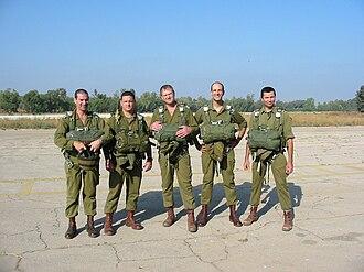 Reservist - Image: Paras 226th