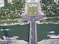 Paris, Eiffelturm, dritte Etage, Jardins du Trocadéro, Pont d'Iéna 2008-06.jpg
