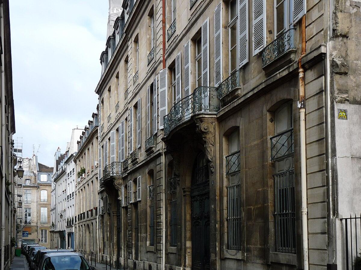 Rue de braque wikip dia - Rue rambuteau paris ...