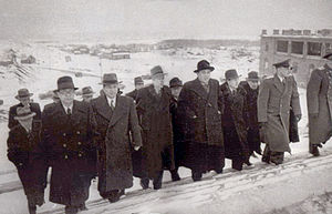 Cabinet of North Korea - The cabinet, headed by Kim Il-sung, visiting Moscow in 1949