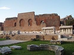 the Roman Odeum of Patras