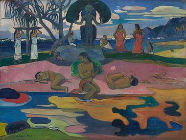 Πωλ Γκωγκέν, Mahana no atua (Ημέρα του Θεού) (π. 1894).