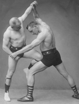 Paul Tirkkonen - Tirkkonen (left) and Iivari Tuomisto