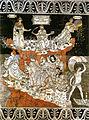 Pavimento di siena, allegoria del colle della sapienza (pinturicchio) 01.jpg