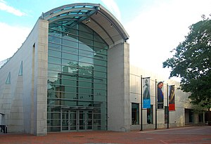 Peabody Essex Museum on Essex Street in Salem,...