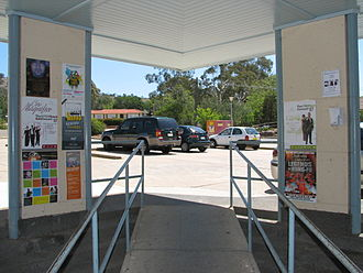 Pearce, Australian Capital Territory - Noticeboards at Pearce shopping village.