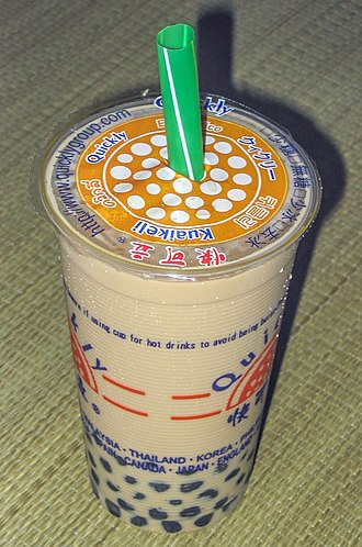 Culture of Taiwan - Pearl milk tea