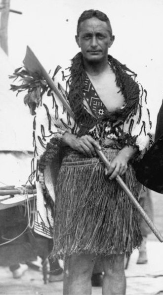 Ngāti Maniapoto - Dr Pei Te Hurinui Jones, circa 1930