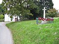 Pencombe - war memorial and village green - geograph.org.uk - 1005989.jpg