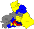 Pendle 2006 election map.png