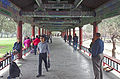 People in Long Corridor, Temple of Heaven Park, Beijing.jpg