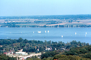 Peoria Heights - View from Water Tower 1970.jpg