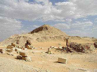 Pepi II Neferkare - Ruins of the pyramid complex of Pepi II